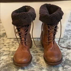 Timberland lace up boot